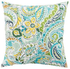 Jaipur Living Veranda Pillow Pezzola Franco Ver152 Blue - Green