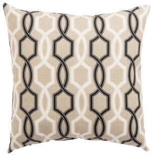 Jaipur Living Veranda Pillow Cestina Fresco Ver155 Beige - Black