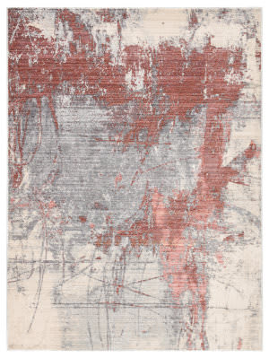 Jaipur Living Valor Patton Vor05 Gray - Red Area Rug