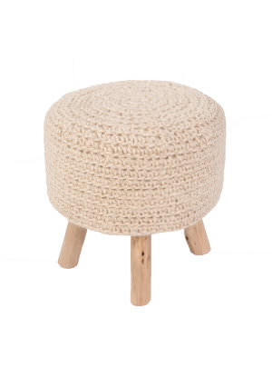 Jaipur Living Westport By Rug Republic Stool Montana Wes01 Bleached Sand