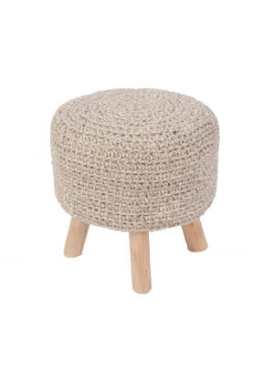 Jaipur Living Westport By Rug Republic Stool Montana Wes02 Pumice Stone