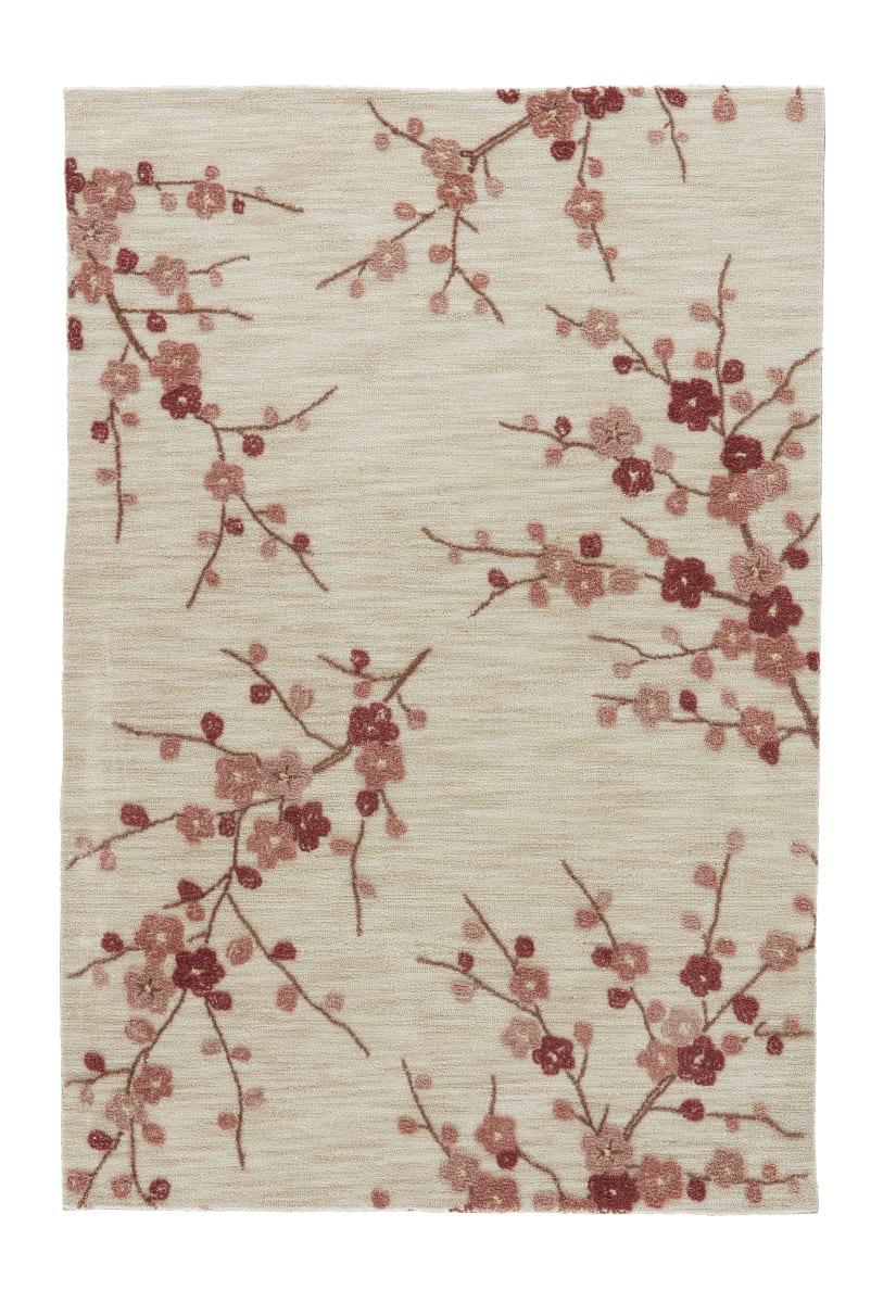 Jaipur Living Brio Cherry Blossom Br02 White Asparagus