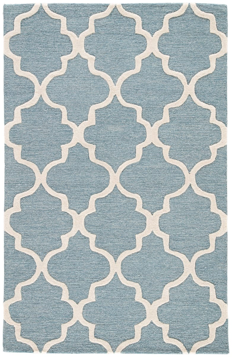 Jaipur Living City Miami Ct28 Blue Shadow - Bright White Area Rug Clearance