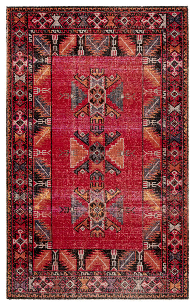 Jaipur Living Polaris Paloma Pol19 Red Black Rug Studio
