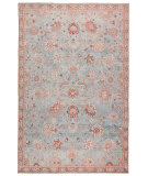Jaipur Living Boheme Boh14 Poppy Light Blue - Orange Area Rug