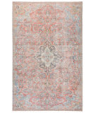 Jaipur Living Chateau Cht01 Foix Red - Light Blue Area Rug