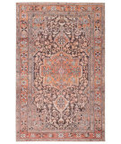 Jaipur Living Chateau Cht06 Chariot Orange - Dark Gray Area Rug