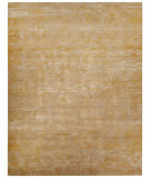Jaipur Living Chaos Theory By Kavi Tidal Foam - Bright Gold 5'6'' x 8' Rug