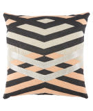 Jaipur Living Cosmic By Nikki Chu Pillow Nki40 Cnk35 Silver Lining - Toasted Almond