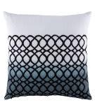 Jaipur Living Cosmic By Nikki Chu Pillow Nki42 Cnk37 Blanc De Blanc - Goblin Blue