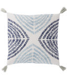 Jaipur Living Cosmic By Nikki Chu Pillow Angelika Cnk53 Blue - Silver