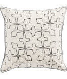 Jaipur Living Cosmic By Nikki Chu Pillow Greta Cnk57 Cream - Black