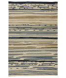 Jaipur Living Colours Sketchy Lines Co08 Silver Green - Ensign Blue Area Rug