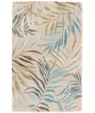 Jaipur Living Coastal Resort Peninsula Cor29 Cream - Blue Area Rug