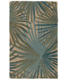 Jaipur Living Coastal Seaside Palmetto Cos33 Fog - Smoke Blue Area Rug