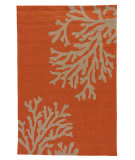 Jaipur Living Grant Design Indoor/Outdoor Bough Out GD01 Apricot Orange - Tuffet Area Rug