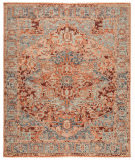 Jaipur Living Inspirit Elyas Isp03 Pink - Blue Area Rug