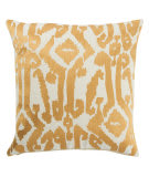 Jaipur Living En Casa By Luli Sanchez Pillow Roux Lsc35 Gold - White Area Rug