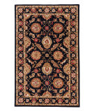 Jaipur Living Mythos Callisto My10 Jet Black - Red Ochre Area Rug