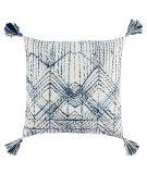 Jaipur Living Omni Pillow By Nikki Chu Nyx Omn13 White - Blue