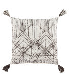 Jaipur Living Omni Pillow By Nikki Chu Nyx Omn14 White - Brown