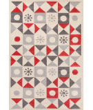 Jaipur Living Playful By Petit Collage Starburst Pbp01 Whitecap Gray Area Rug