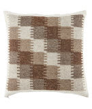 Jaipur Living Peykan Pillow Terzan Pey09 Turtledove - Chocolate Chip
