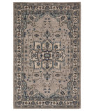 Custom Jaipur Living Poeme Durango Pm149 Chateau Gray - Mineral Gray Area Rug