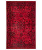 Jaipur Living Polaris Fayer Pol22 Red - Black Area Rug