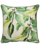 Jaipur Living Verdigris Pillow Jade Ved01 Green - White