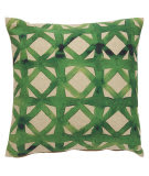 Jaipur Living Verdigris Pillow Emerald Ved02 Green - Beige