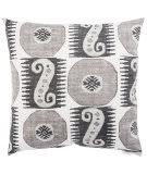 Jaipur Living Veranda Pillow Odl Souk Treasure Ver132 Gray - White