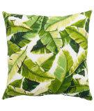 Jaipur Living Veranda Pillow Balmoral Ver138 White - Green