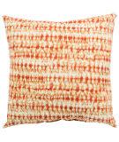 Jaipur Living Veranda Pillow Perron Fresco Ver146 Orange - White