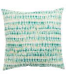 Jaipur Living Veranda Pillow Perron Fresco Ver147 Aqua - White