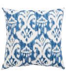 Jaipur Living Veranda Pillow Rivoli Fresco Ver150 Blue - White