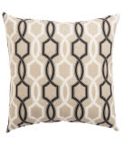 Jaipur Living Veranda Pillow Cestina Fresco Ver155 Beige - Black