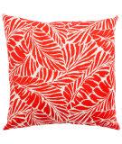 Jaipur Living Veranda Pillow Malkus Fresco Ver157 Red - White
