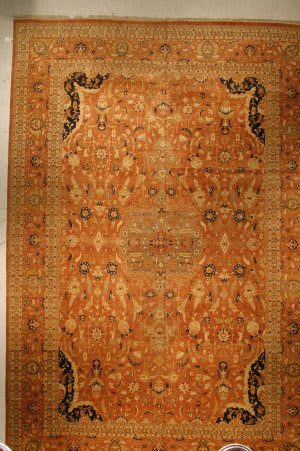 J. Aziz Haj Jalili V-1668 BROWN Area Rug