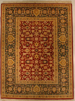 J. Aziz Haj Jalili V-1678 RED/GREEN Area Rug