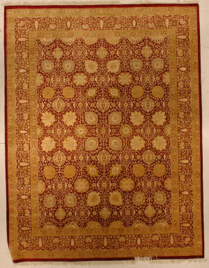 J. Aziz Haj Jalili V-1680 Brown Area Rug