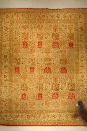 J. Aziz Haj Jalili V-1683 Rust Area Rug