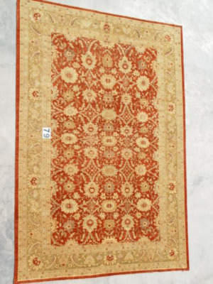 J. Aziz Peshawar Ult-173 Red-Gold 86969 Area Rug