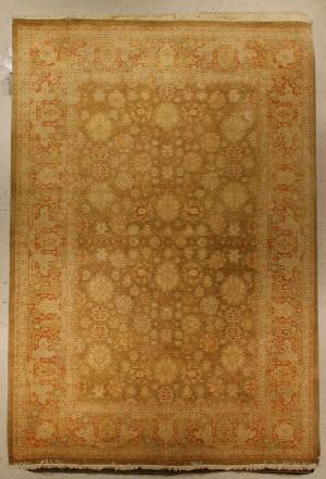 J. Aziz Haj Jalili V-1718 Olive / Brown Area Rug
