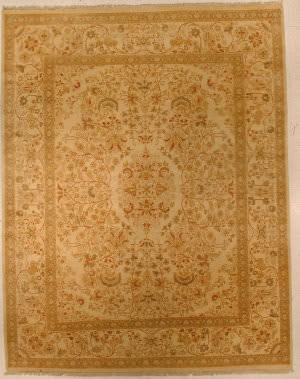 J. Aziz Haj Jalili V-1713 Ivory / Olive Area Rug