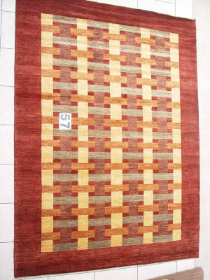 J. Aziz Peshawar Novelty Brown- 86885 Area Rug