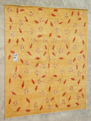 J. Aziz Peshawar Novelty Gold- 86904 Area Rug