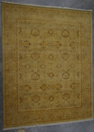 J. Aziz Haj Jalili V-1662 Light Blue / Walnut Area Rug