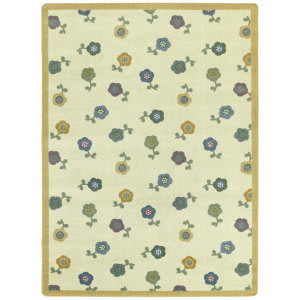Joy Carpets Kid Essentials Awesome Blossom Soft Area Rug