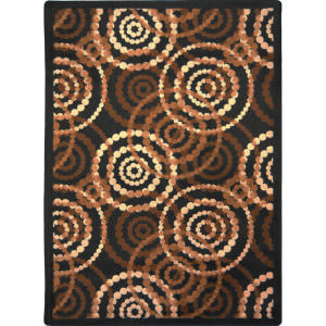 Joy Carpets Kid Essentials Dottie Desert Area Rug